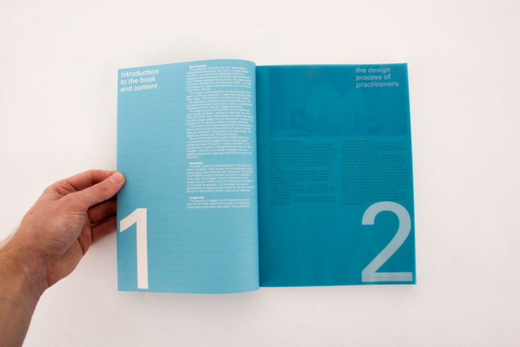 SS Kurve book introduction with large numbers used to section the book into parts