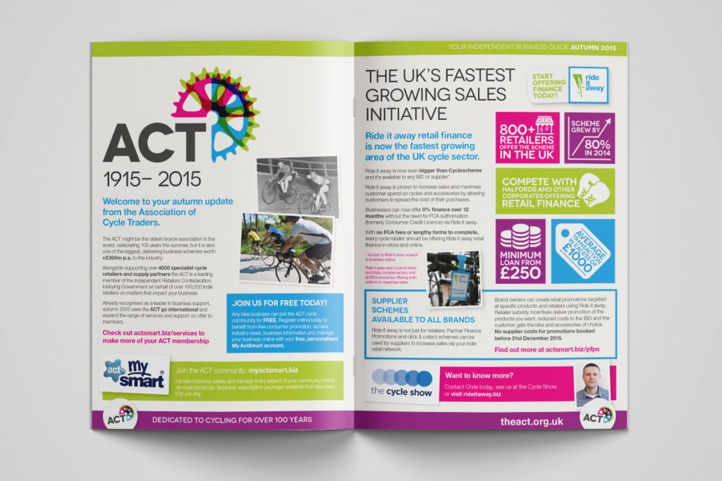 Independent business guide autumn 201 internal infographic spread