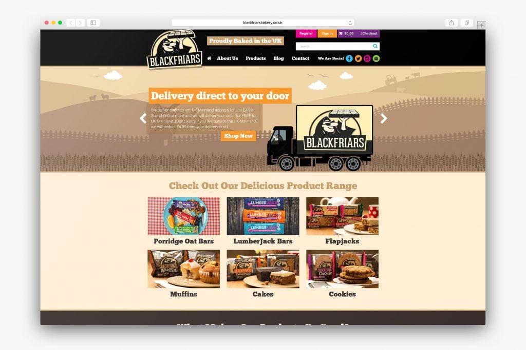 Blackfriars Bakery Homepage